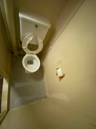 特殊清掃後のトイレ特別清掃2